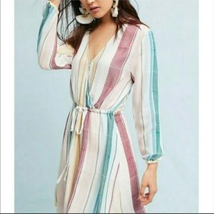 Rails Multi-Color Becca Cusco Striped Mini Dress